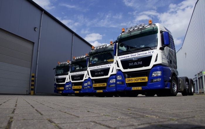 Antwerpse Staal Services Man-trucks